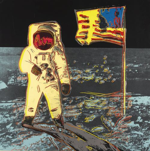 Andy Warhol-Moonwalk (F. & S. II.404)-1987
