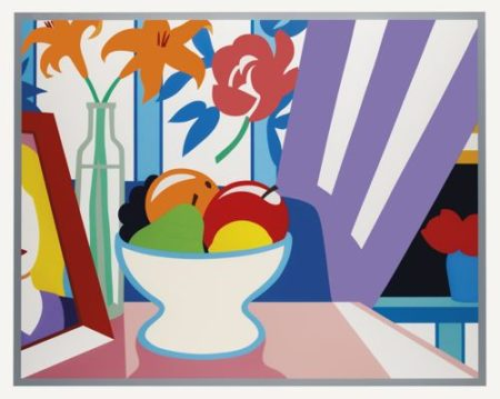 Tom Wesselmann-Still Life With Lillies And Mixed Fruit-1998