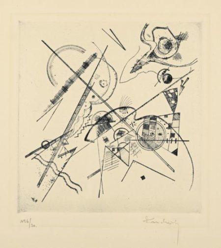 Wassily Kandinsky-Unbetitelte Radierung (Roethel 183)-1924