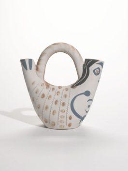Pablo Picasso-Figure De Proue (Alain Ramie 136)-1952