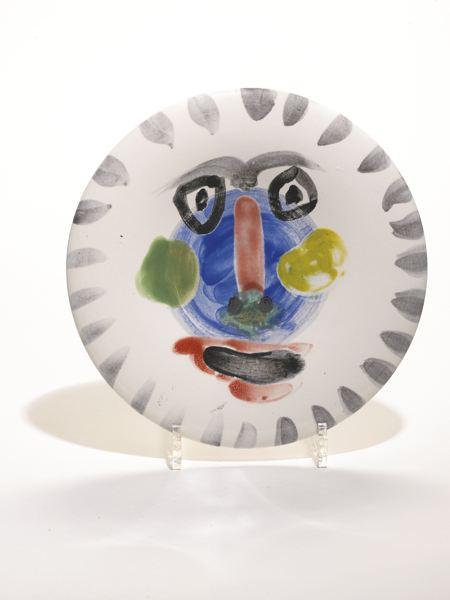 Pablo Picasso-Visage No. 202 (A. R. 495)-1963
