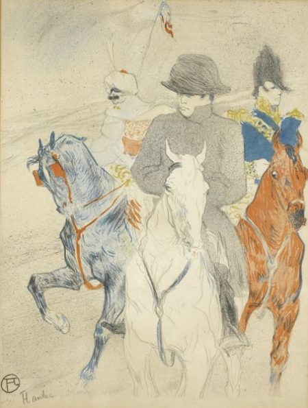 Henri de Toulouse-Lautrec-Napoleon (Delteil 358; Adriani 135; Wittrock 140)-1895