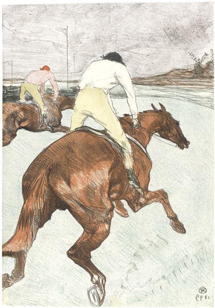 Henri de Toulouse-Lautrec-Le Jockey (D. 279; Adr. 345; W. 308)-1899