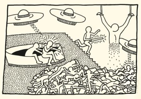 Keith Haring-The Blueprint Drawings (L. P. 176)-1990