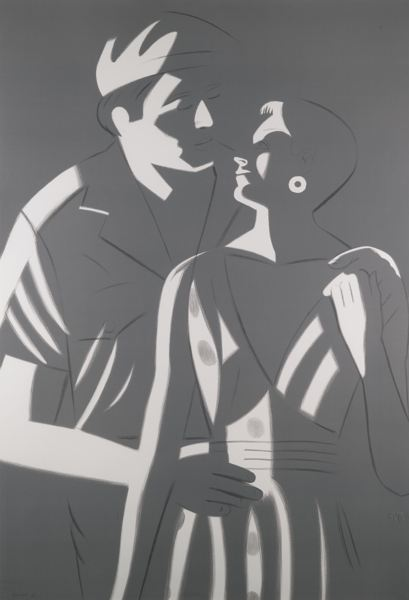 Alex Katz-Sunset-1984