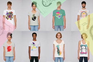 Buy a T-Shirt Made by Street Artists and Indonesian Kids and Help a School!
