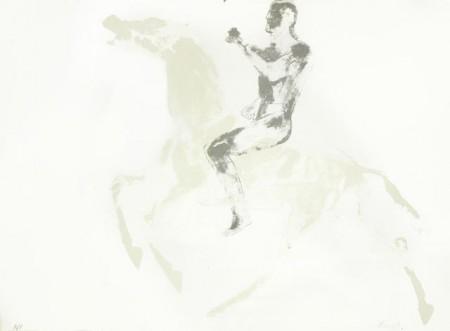Elisabeth Frink-CAS Horse and Rider-1971