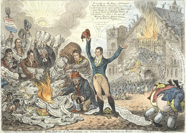 James Gillray-True Reform of Parliament-1809