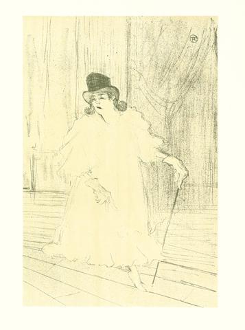 Henri de Toulouse-Lautrec-After Henri de Toulouse-Lautrec - Douze Lithograhies-1948
