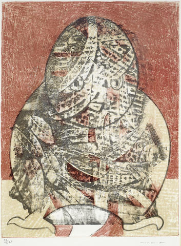 Max Ernst-Hibou (Eule)-1955