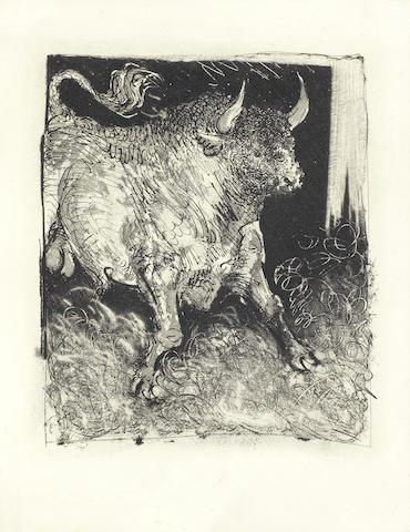 Pablo Picasso-Le Toro Espagnol, from 'Histoire Naturelle'-1942