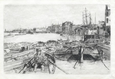 James Abbott McNeill Whistler-The Pool-1859