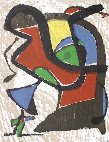 Joan Miro-Engraver I - IV 4 vol-2001
