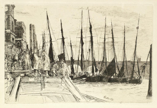 James Abbott McNeill Whistler-Billingsgate-1859