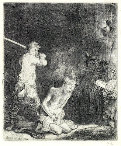 Rembrandt van Rijn-The Beheading of St John the Baptist-1640