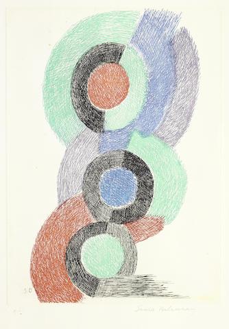 Sonia Delaunay-Composition-
