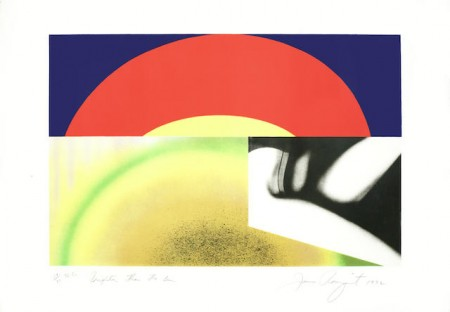 James Rosenquist-Brighter than the Sun-1972