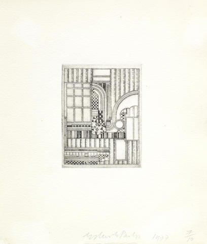 Eduardo Paolozzi-Untitled (Relief)-1977