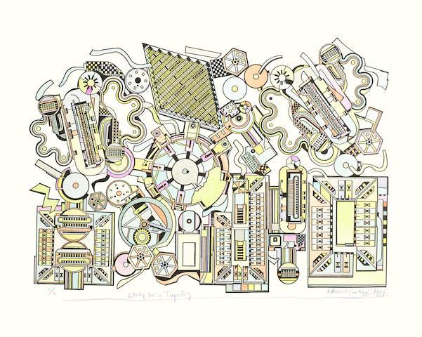 Eduardo Paolozzi-Study for a Tapestry-1999