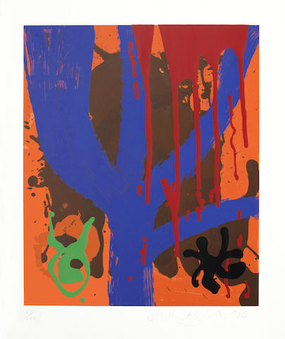 John Hoyland-Dream-1996