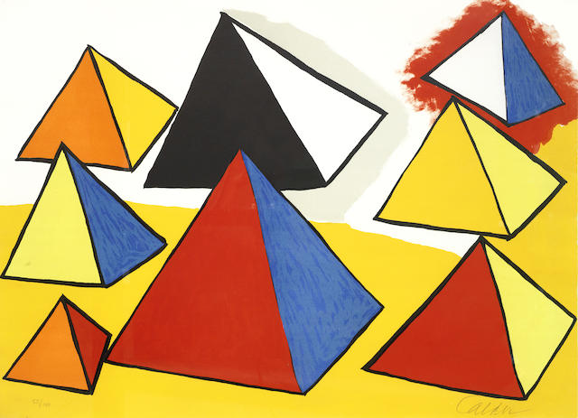 Alexander Calder-La Memoire Elementaire 3-1976