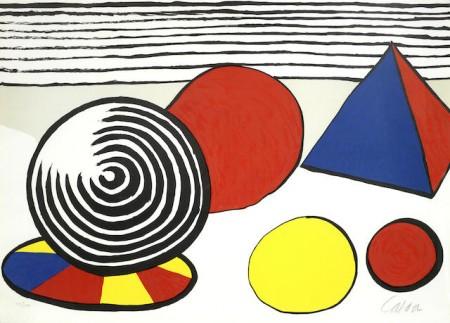 Alexander Calder-La Memoire Elementaire 6-1976