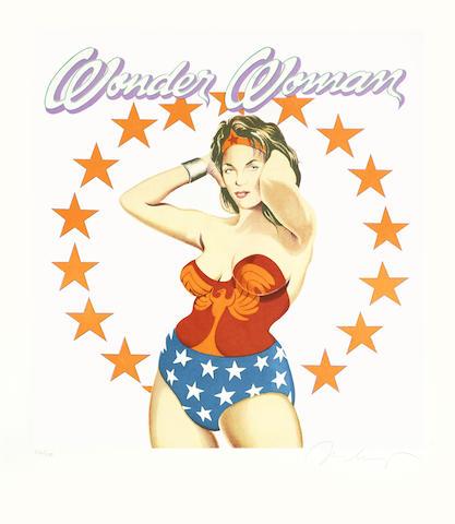 Mel Ramos-Wonder Woman-1981