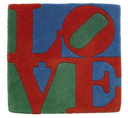 Robert Indiana-Love (Red, Green & Blue)-