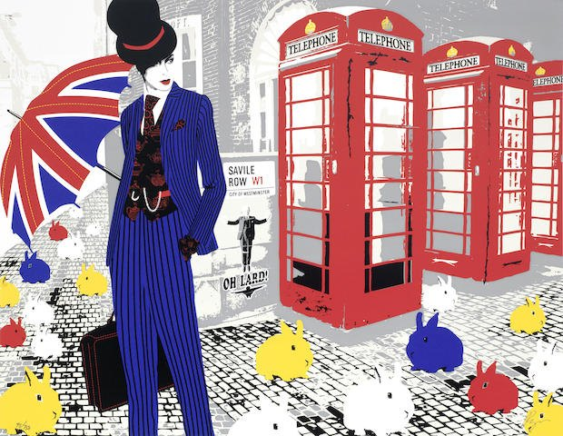 Richard Ryan-London by Ryan (Savile Row, London Street, London Victoria Station, Parliament)-2010
