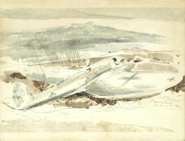 Paul Nash-The Raider on the Moors-1940