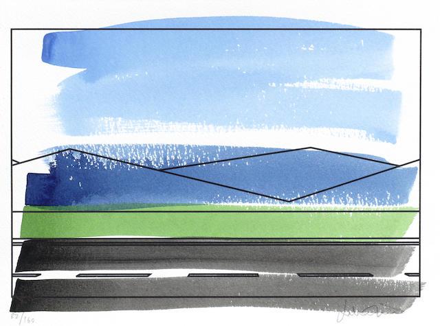 Julian Opie-Roadscape-2002