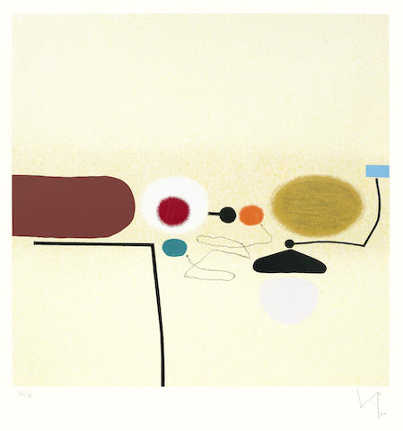 Victor Pasmore-Points of contact No.34-1980