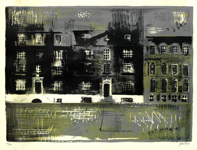John Piper-Westminster School II-1961