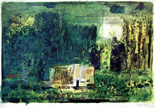 John Piper-Woodman's Cottage, Charente-1968