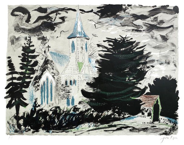 John Piper-High Cross, Hampshire-1978