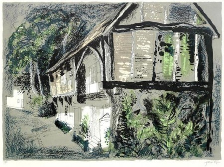 John Piper-Courthouse, Long Crendon, Buckinghamshire-1978