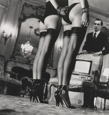 Helmut Newton-Two Pairs Of Stockings-1979