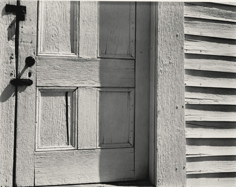 Edward Weston-Selected Images (Oceano and Church Door, Hornitos)-1940