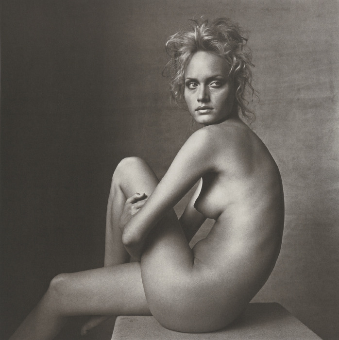 Irving Penn-Amber Valletta (New York, May 7, 1996)-1996