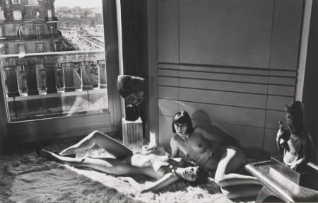 Helmut Newton-Mannequins, Quai D'Orsay-1977