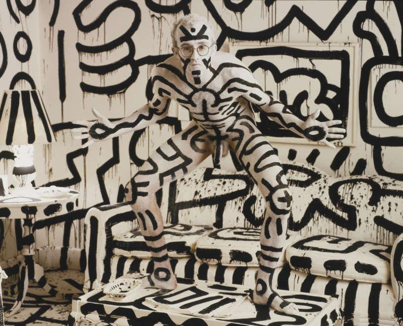 Annie Leibovitz-Keith Haring, New York City-1986
