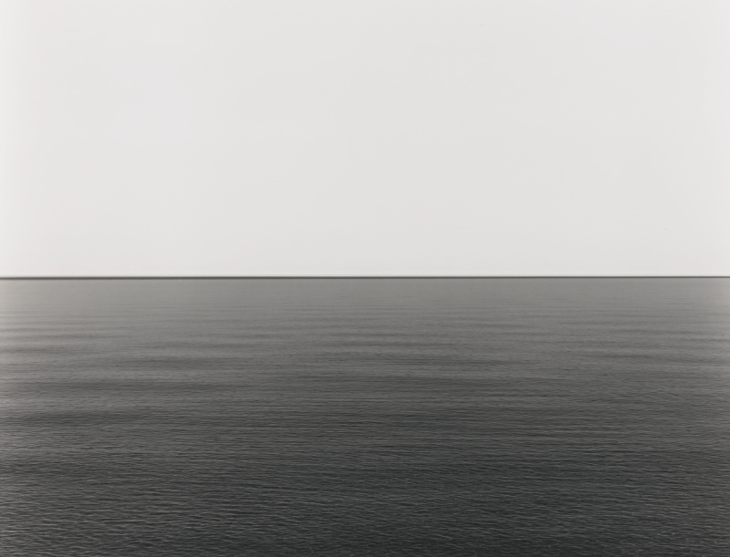 Hiroshi Sugimoto-Lake Superior, Eagle River-2003