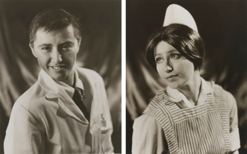 Cindy Sherman-Untitled (Doctor And Nurse Diptych)-1980