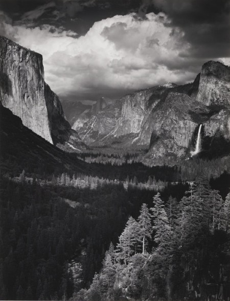 Ansel Adams-Yosemite And The Range Of Light; Thunderstorm, Yosemite Valley, California (Boston: New York Graphic Society, 1979)-1945