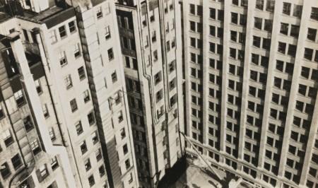 Walker Evans-New York City, Skyscrapers, Abstract Detail-1929