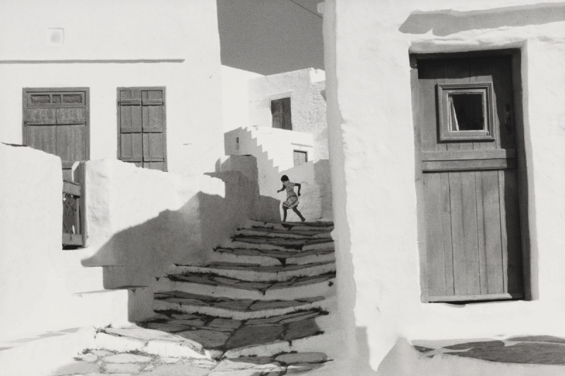 Henri Cartier-Bresson-Siphnos, Greece-1961