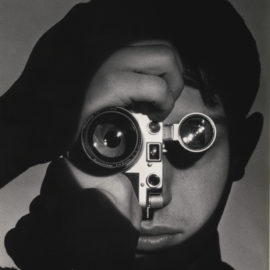 Andreas Feininger-The Photojournalist' (Dennis Stock)-1955