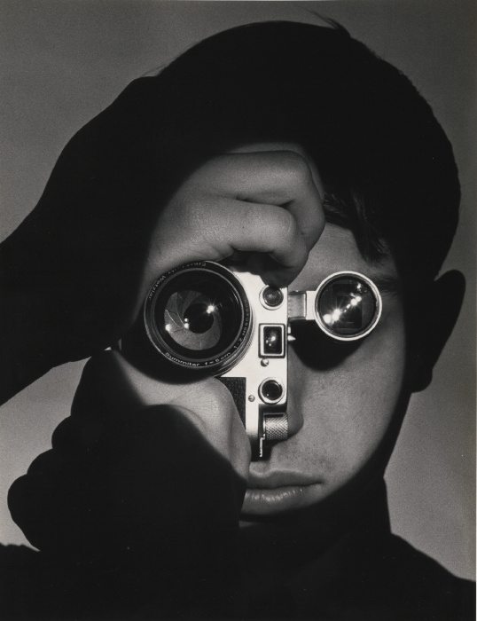 Andreas Feininger-The Photojournalist' (Dennis Stock)-1955