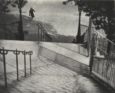 Andre Kertesz-Selected Images From Andre Kertesz (Chez Mondrian, Colette, Eiffel Tower, and Stairs of Montmartre)-1930