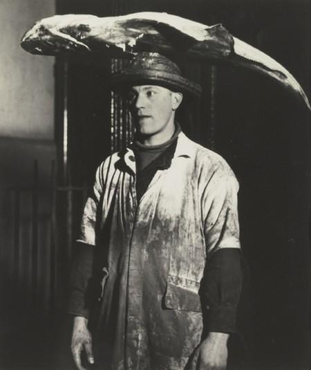 Bill Brandt-Porter At Billingsgate Market-1934